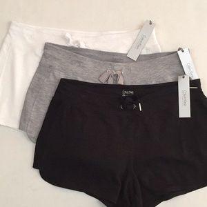 New lot 3 Calvin Klein performance stretch shorts